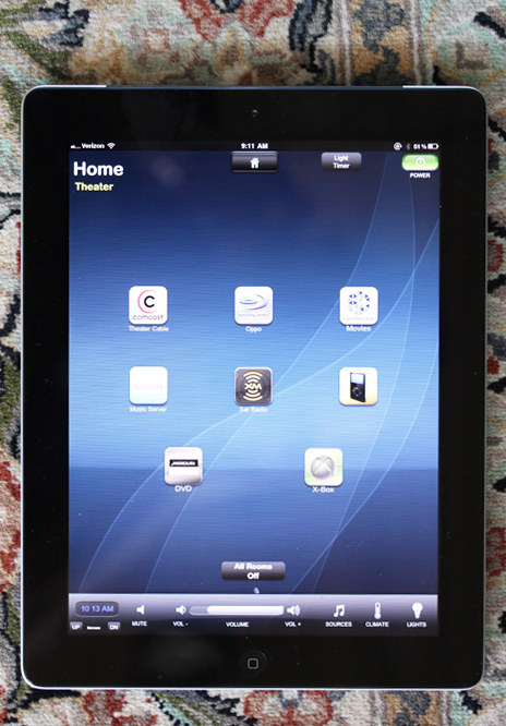 Home Ipad Control System